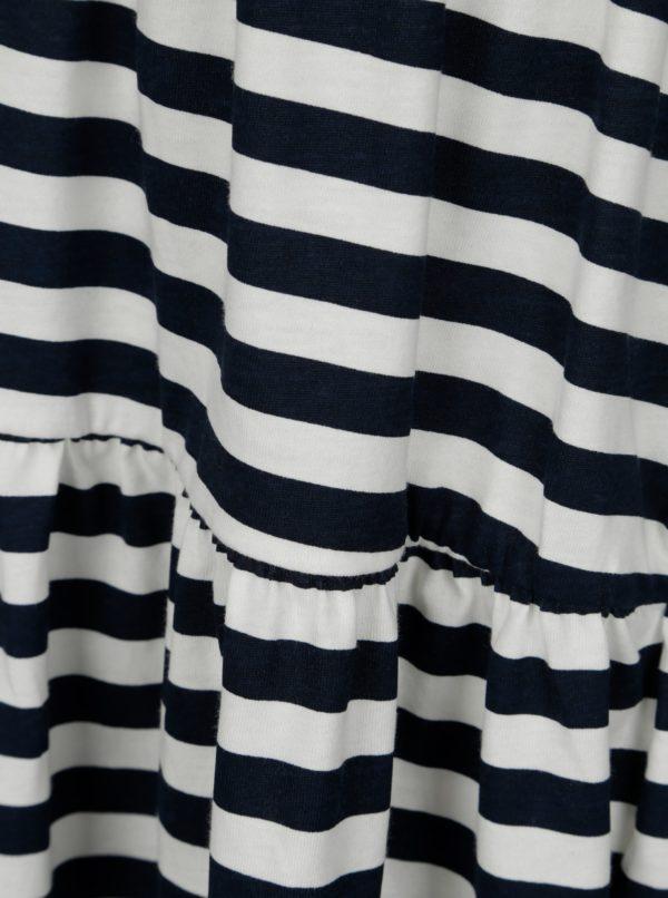 Bielo–modré pruhované dievčenské šaty name it Vigga