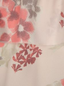 Ružová kvetovaná dievčenská blúzka LIMITED by name it Sanja