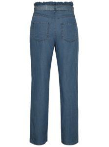 Modré nohavice s vysokým pásom Noisy May Marian