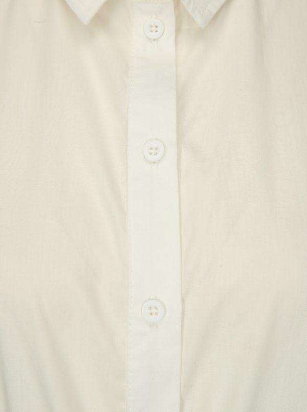 Biele košeľové šaty Noisy May Nora