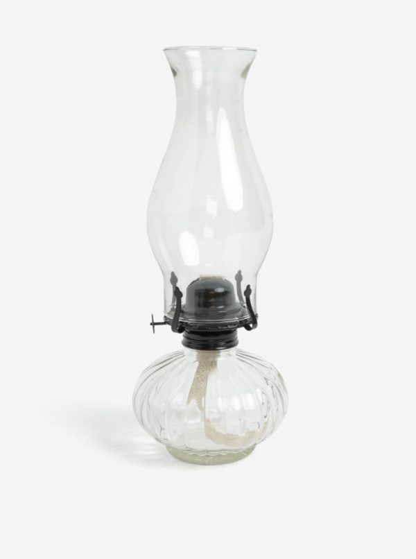 Transparentná petrolejová lampa Dakls
