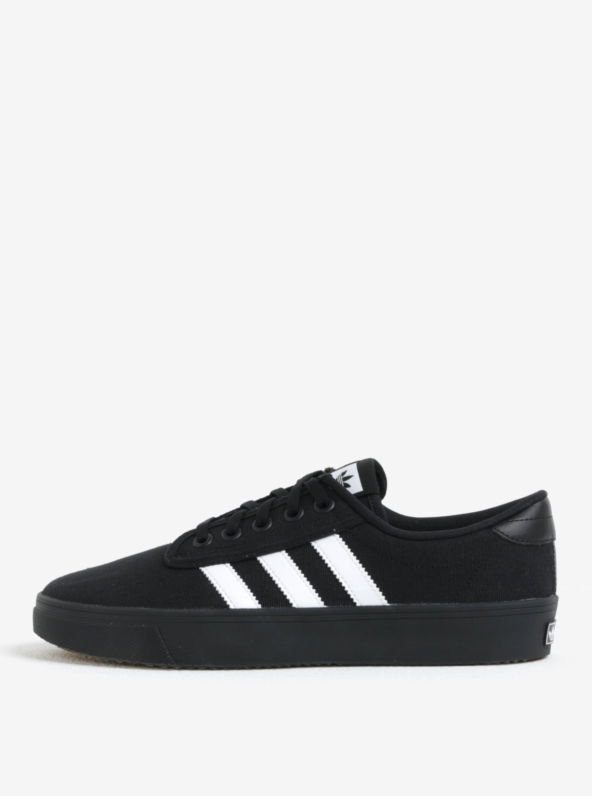 Čierne tenisky adidas Originals Kiel  39c1d60f1e2
