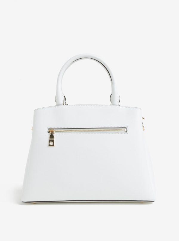 Biela malá kožená kabelka s motívom motýľov DKNY