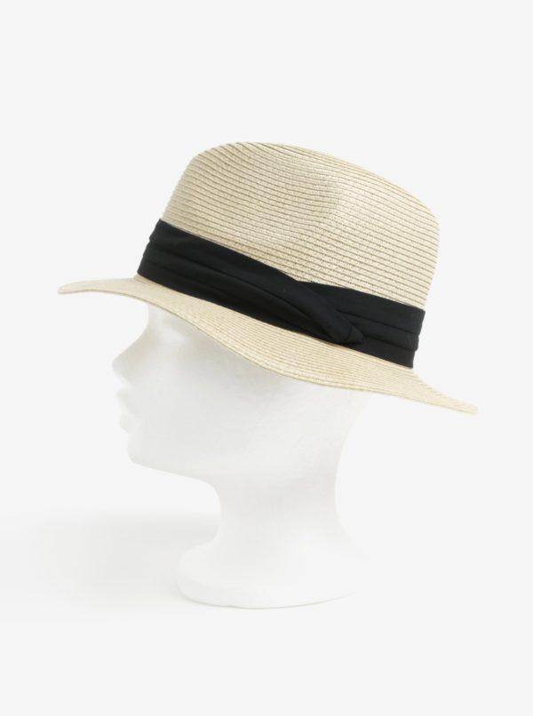 Béžový klobúk Pieces Ida