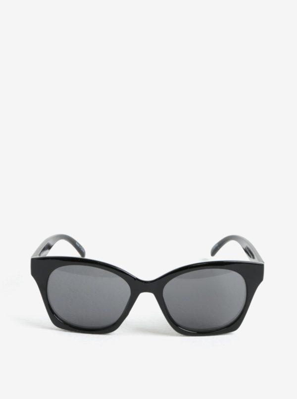 Čierne slnečné okuliare Pieces Inka