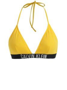94cfbec8a Žltý horný diel plaviek Calvin Klein