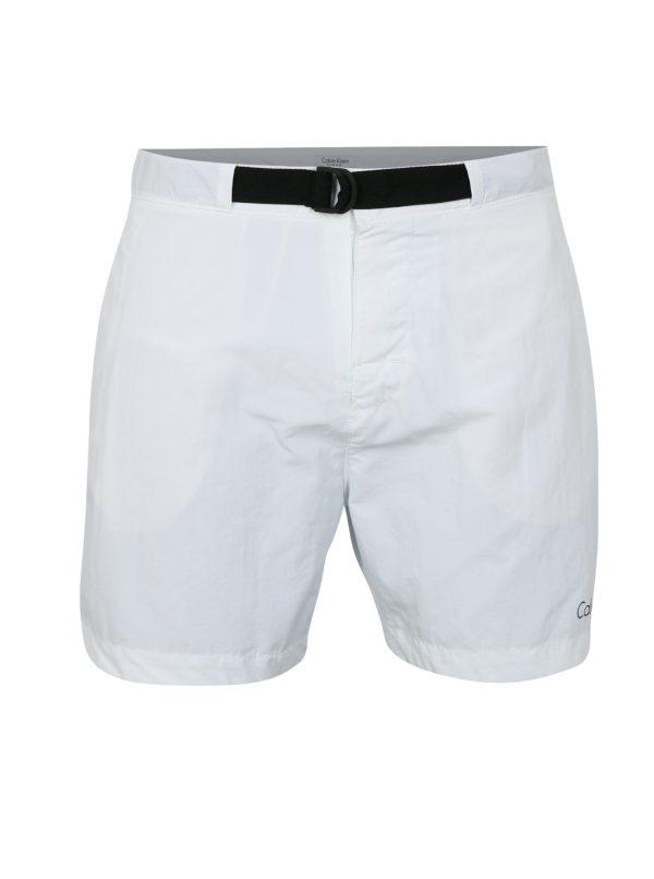 Biele pánske plavky Calvin Klein