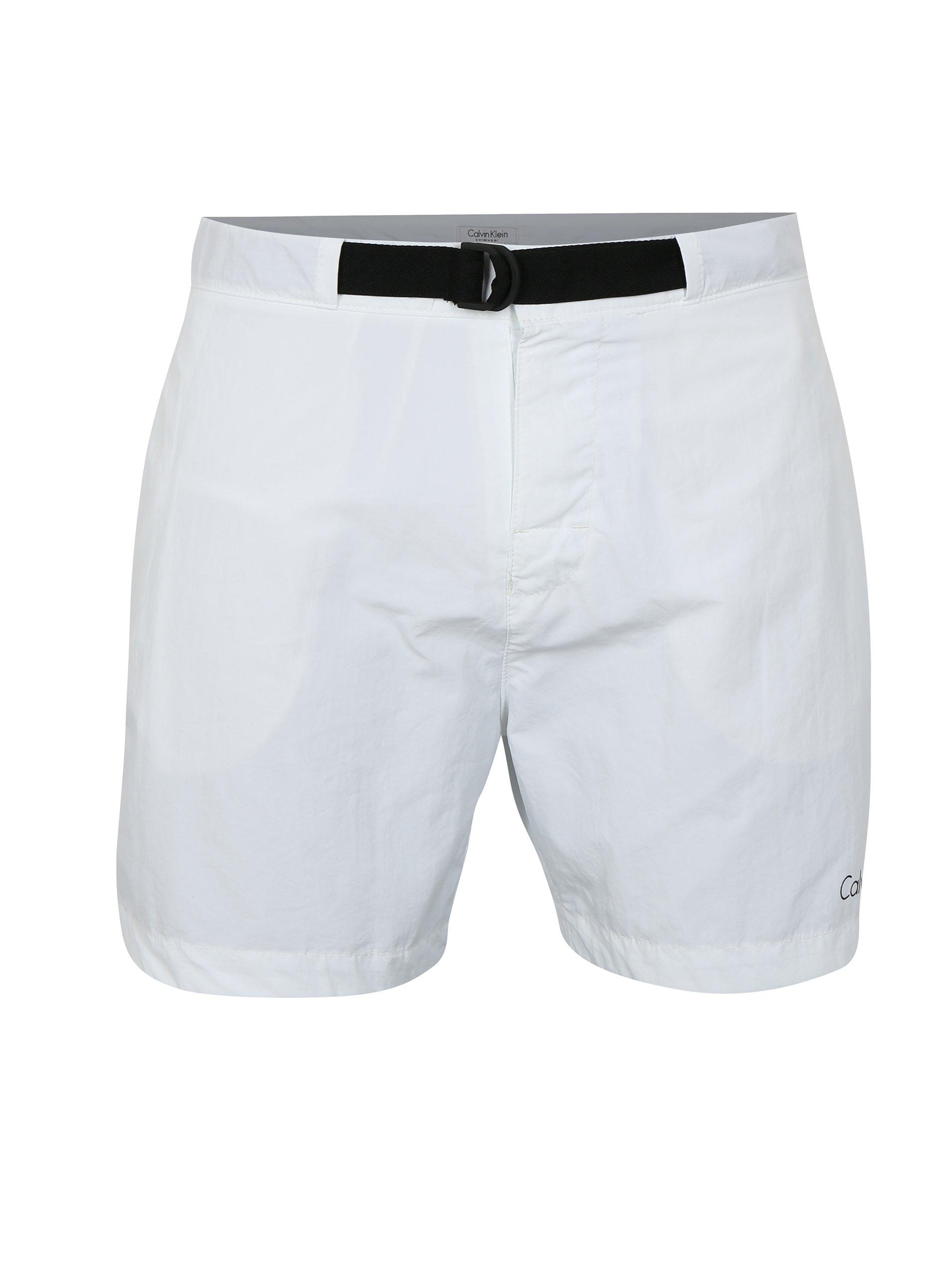 93f0ecabfd Biele pánske plavky Calvin Klein Underwear