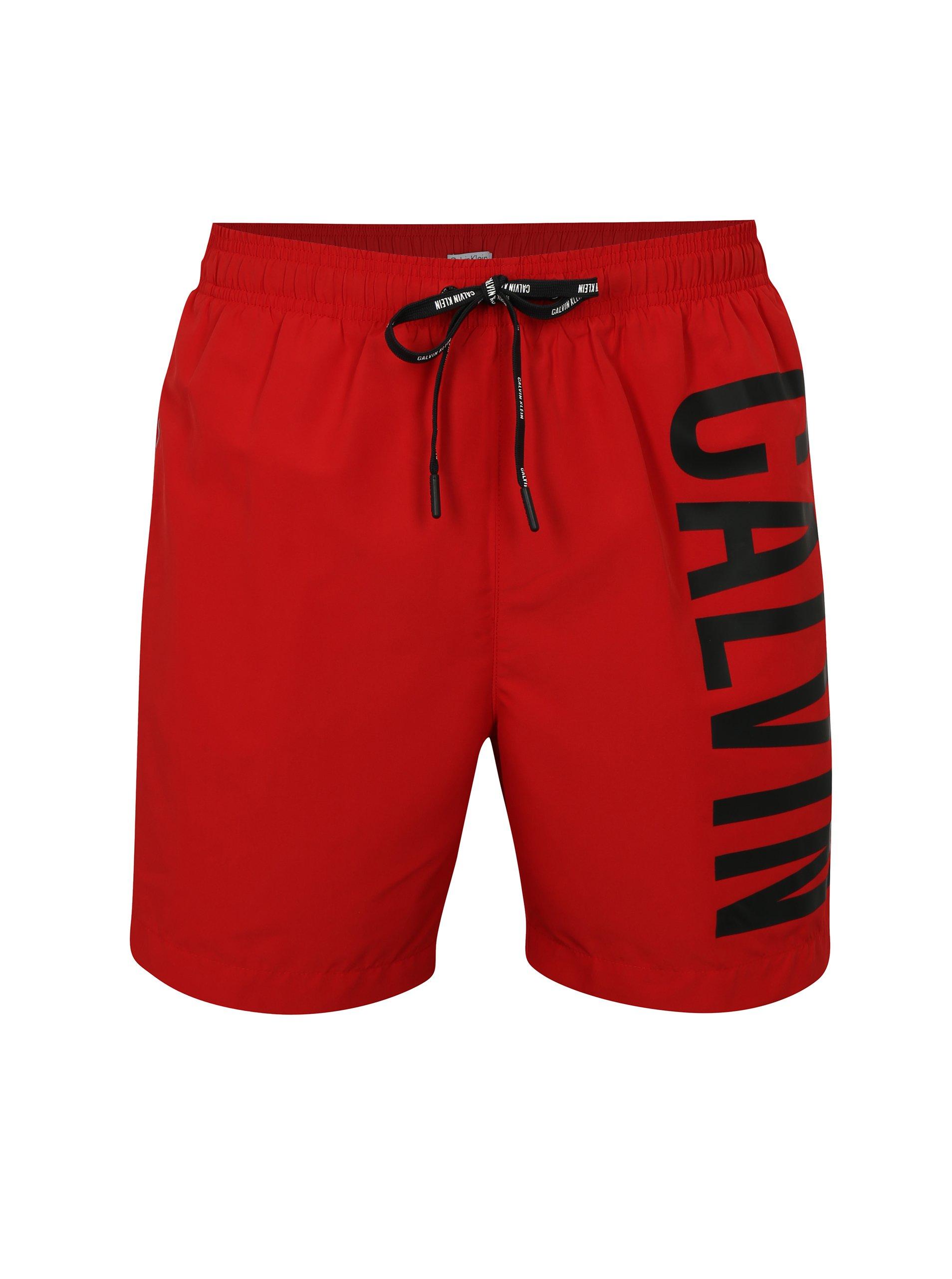 0f77942fa Červené pánske plavky Calvin Klein | Moda.sk