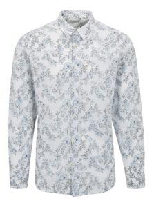 Biela kvetovaná košeľa Selected One Florals