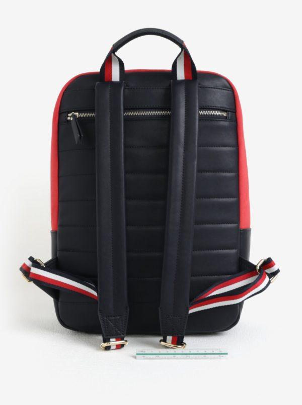 fcf8913590 Červeno-modrý batoh Tommy Hilfiger