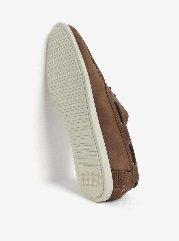 Hnedé poltopánky Burton Menswear London