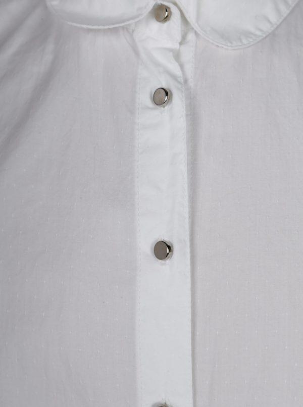 Biela dievčenská košeľa 5.10.15.