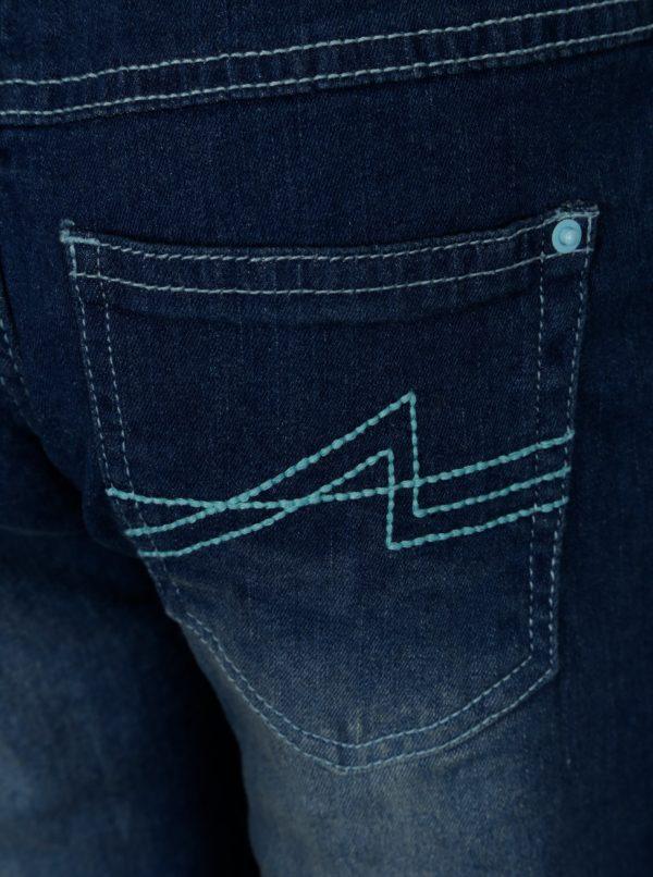 Modré chlapčenské nohavice s elastickým pásom 5.10.15.