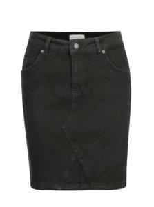 Čierna rifľová sukňa Selected Femme Maya