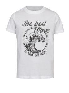 Čierno-biele chlapčenské tričko LIMITED by name it