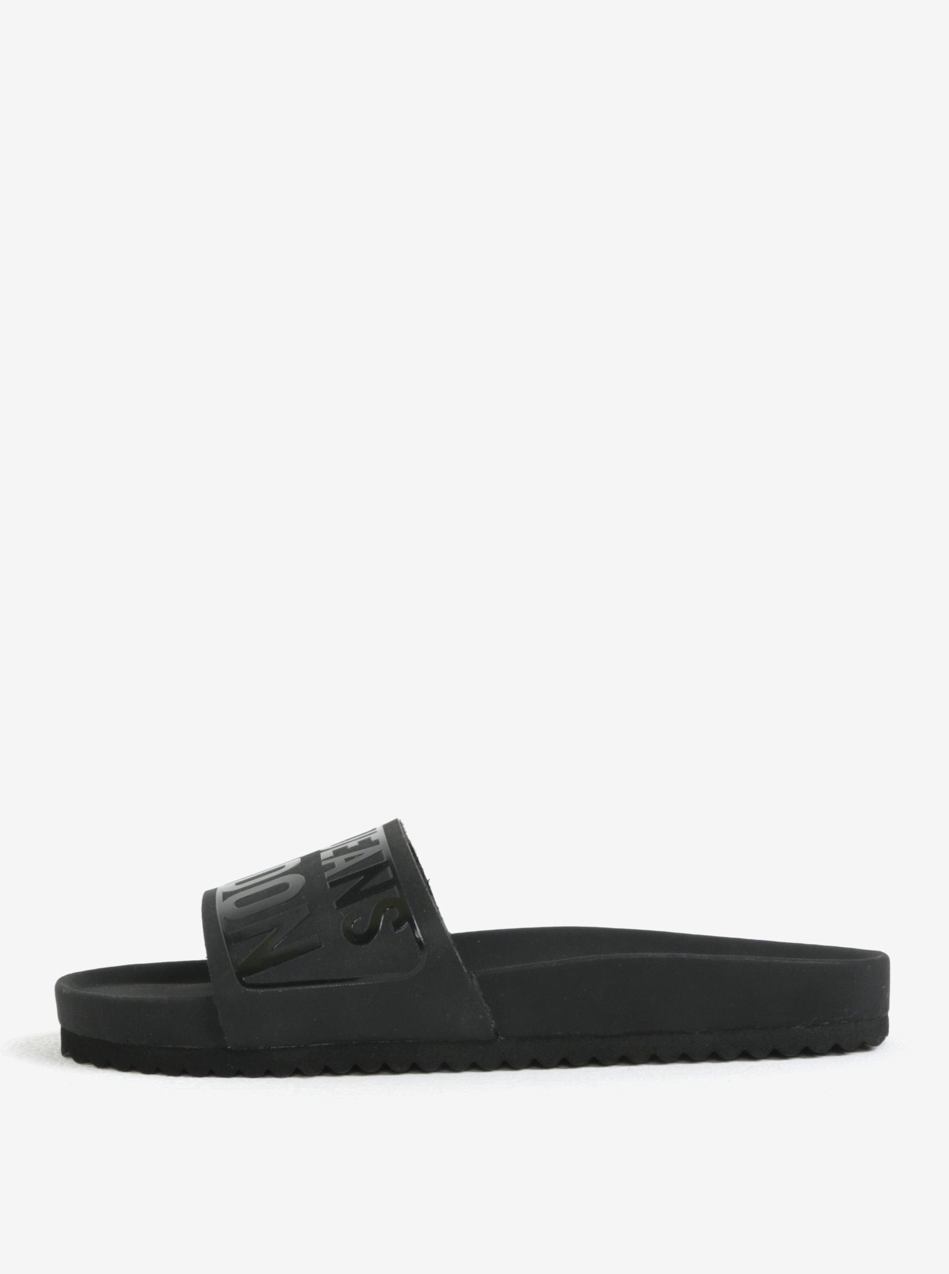 e6f014b1e0 Čierne dámske šľapky Pepe Jeans Bio royal