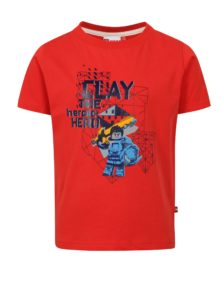Červené chlapčenské tričko s potlačou Lego Wear Thomas