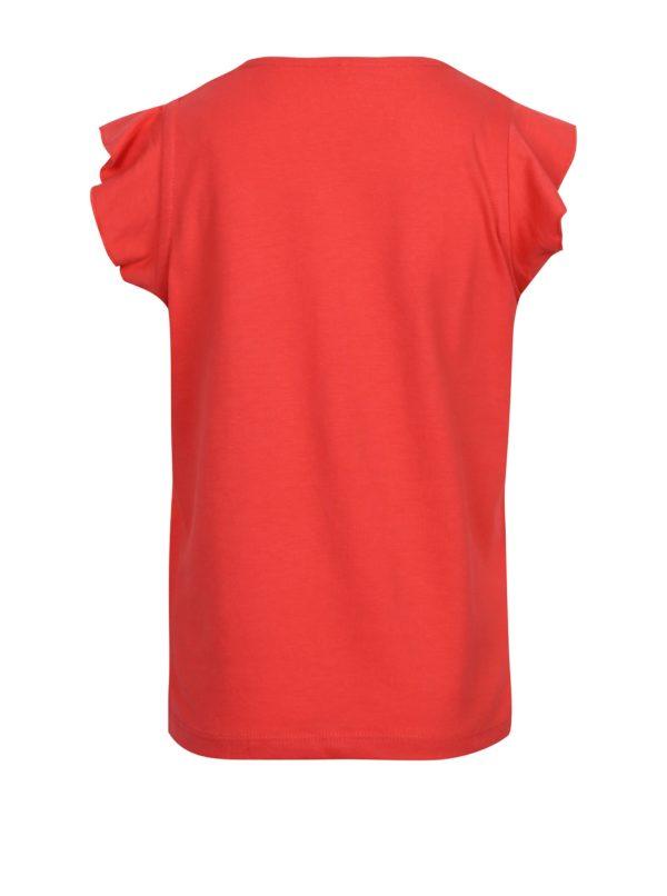 Červené dievčenské tielko s volánmi name it Kimonda