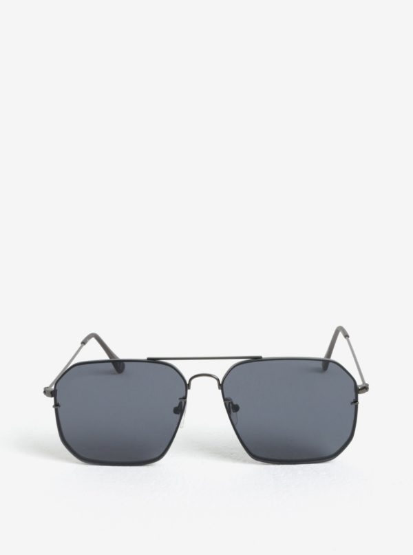 Čierne hranaté slnečné okuliare Jeepers Peepers