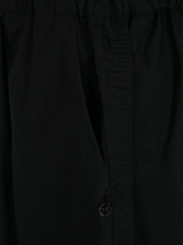 Čierna minisukňa s elastickým pásom Scotch & Soda