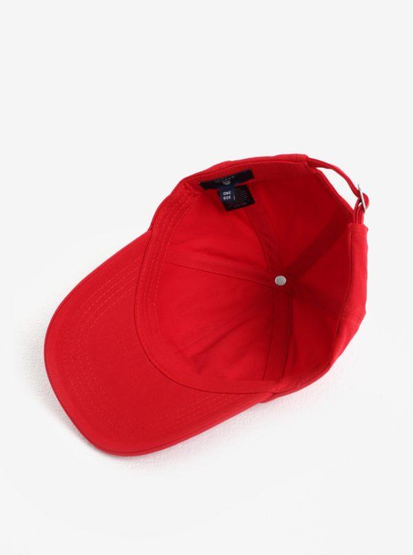 Červená šiltovka GANT