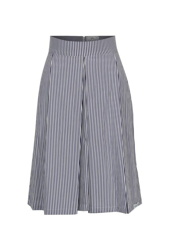 Bielo-modrá pruhovaná sukňa SEVERANKA