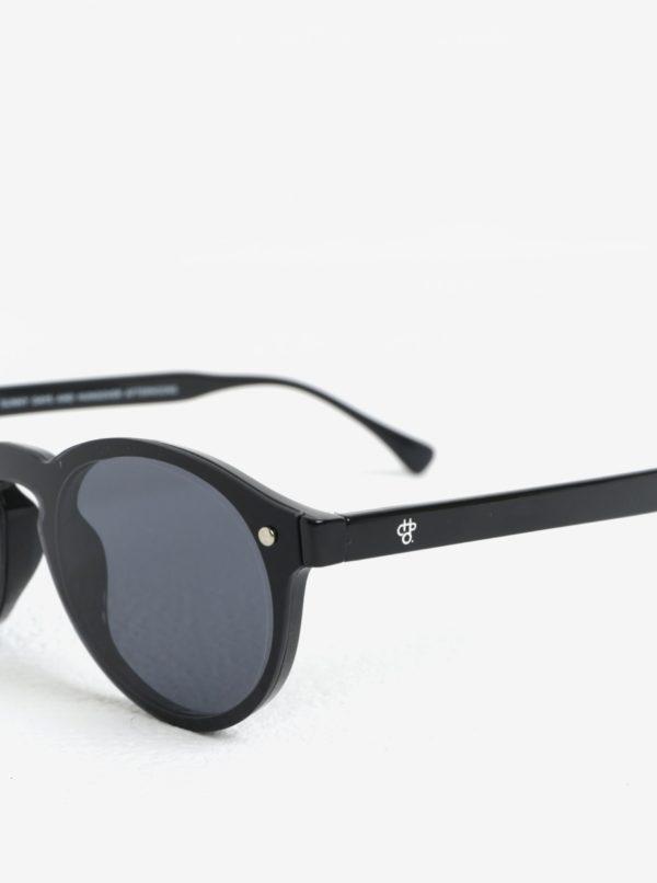 Čierne dámske slnečné okuliare CHPO Mcfly
