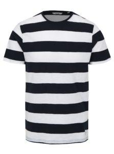 Bielo-modré pruhované tričko ONLY & SONS Dontell