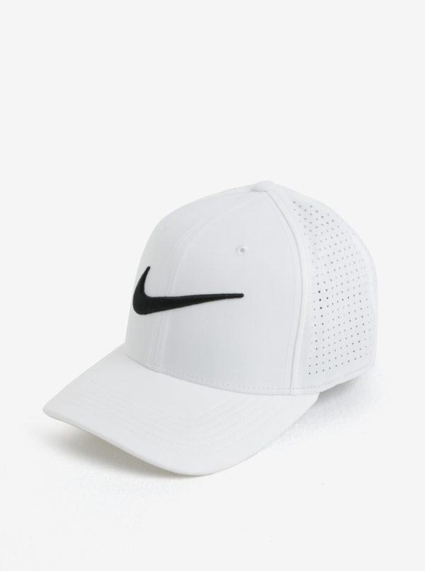 Biela unisex funkčná šiltovka Nike