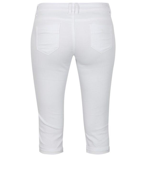 Biele rifľové 3/4 nohavice Haily´s Jenna