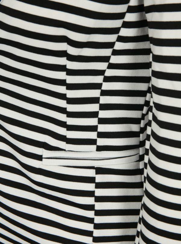 Bielo–čierne pruhované sako Haily´s Femke