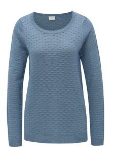 Modrá vzorovaný sveter VILA Sarafina