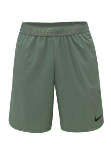 Zelené pánske standart fit kraťasy Nike FLEX