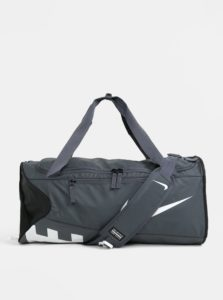 Sivá športová taška Nike Alpha Adapt Cross Body
