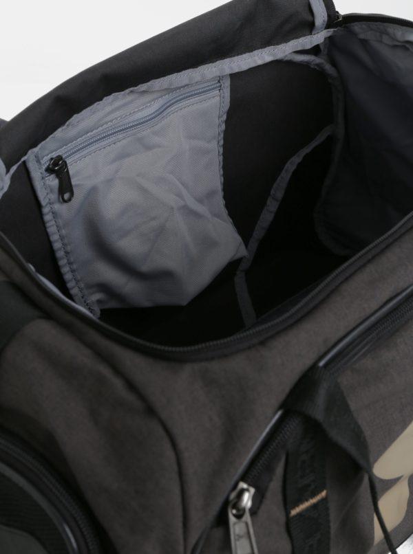 Tmavosivá vodovzdorná športová taška Under Armour