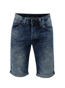 Tmavomodré pánske rifľové kraťasy Pepe Jeans Crash short