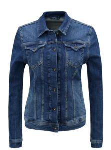 Modrá dámska rifľová bunda Pepe Jeans Thrift