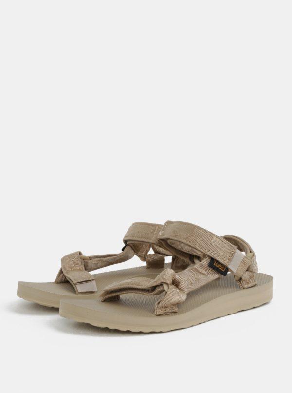 Béžové dámske sandále Teva