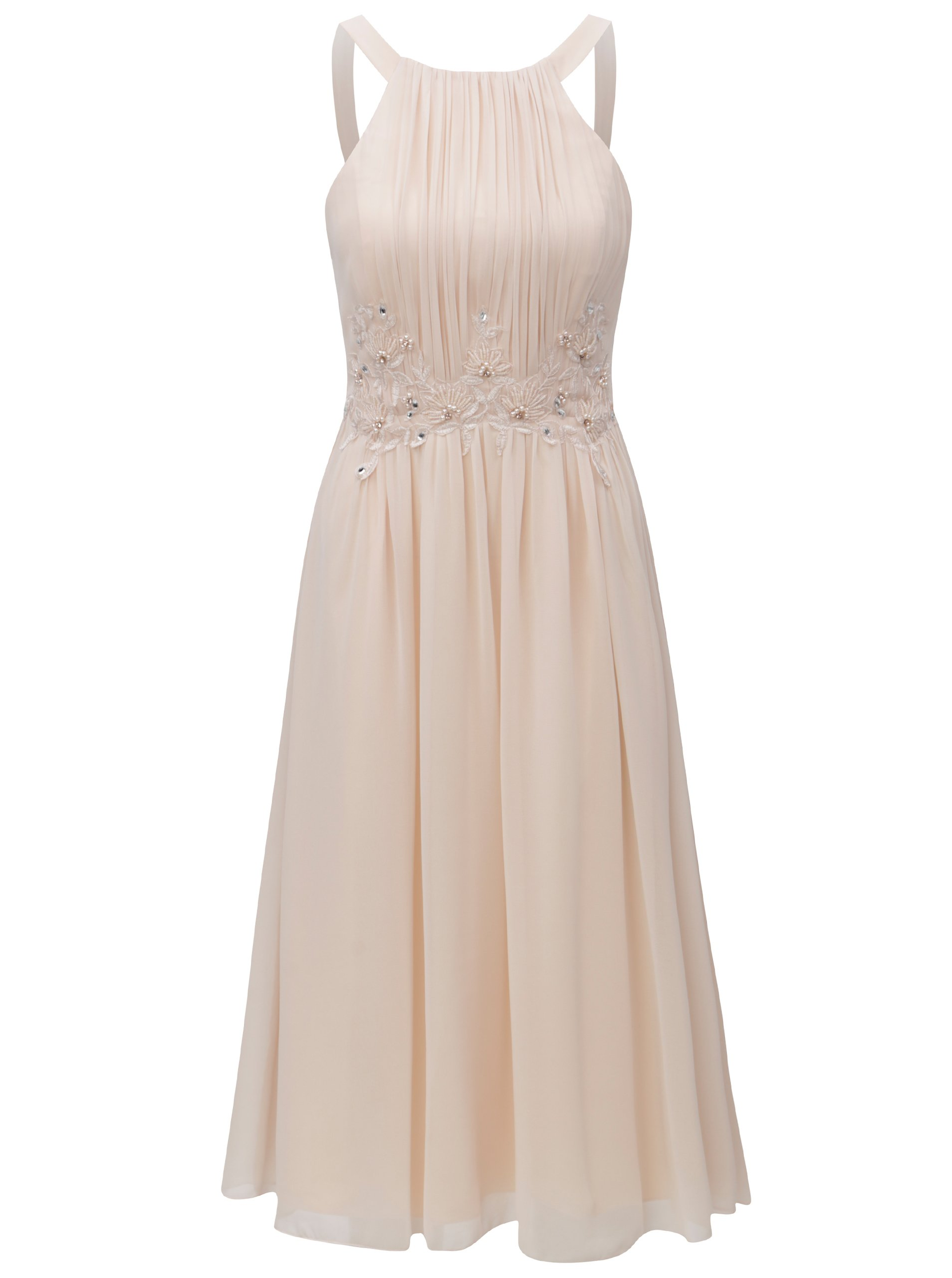 03440f24c90b Marhuľové šaty s korálkami Little Mistress
