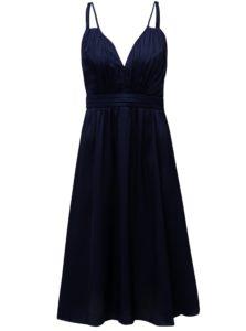Tmavomodré šaty Little Mistress