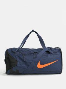 Čierno-modrá športová taška Nike Alpha 48 l