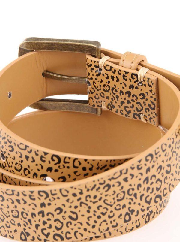 Opasok s leopardím vzorom D-Struct Movico