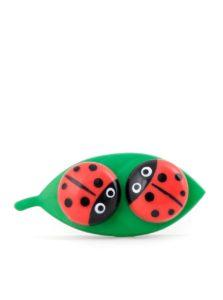 Puzdro na kontaktné šošovky Kikkerland Ladybug