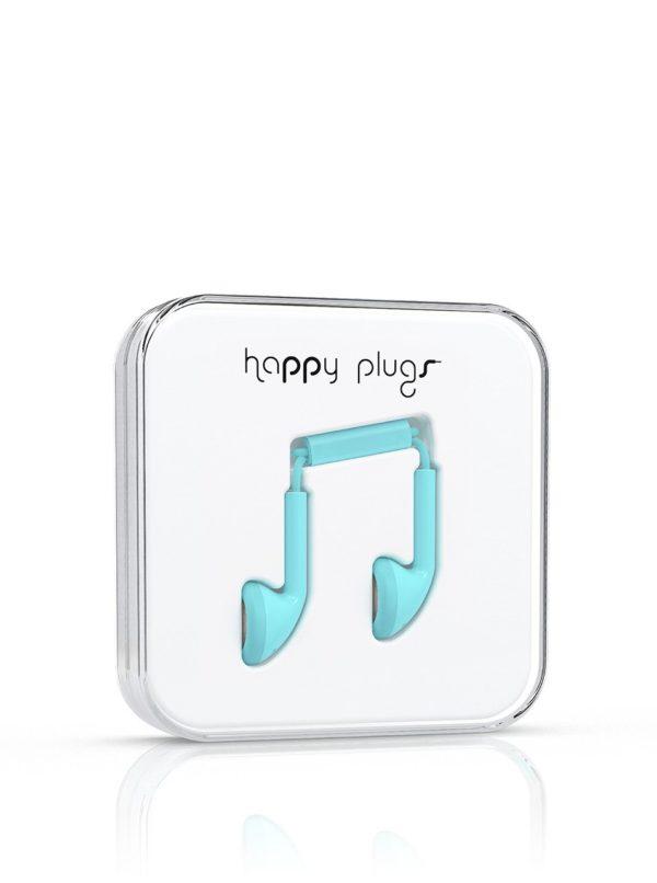 Mentolové Earbud slúchadlá Happy Plugs
