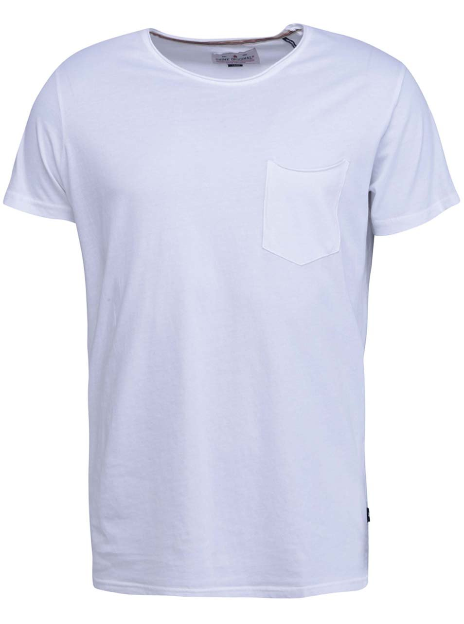 408d6518afc7 Biele tričko s krátkym rukávom Shine Original Andy