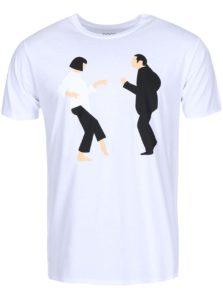 Biele pánske tričko ZOOT Originál Pulp Fiction