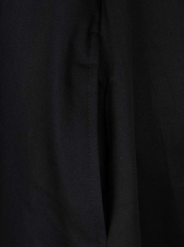 Čierne šaty s prestrihmi na chrbte Dolly & Dotty Veronica