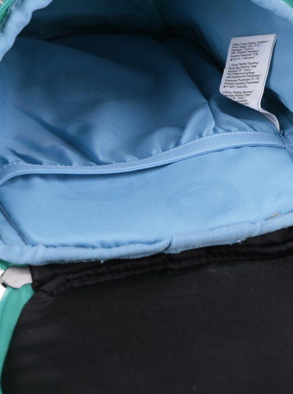 Ružovo-tyrkysový batoh v tvare sovy Affenzahn