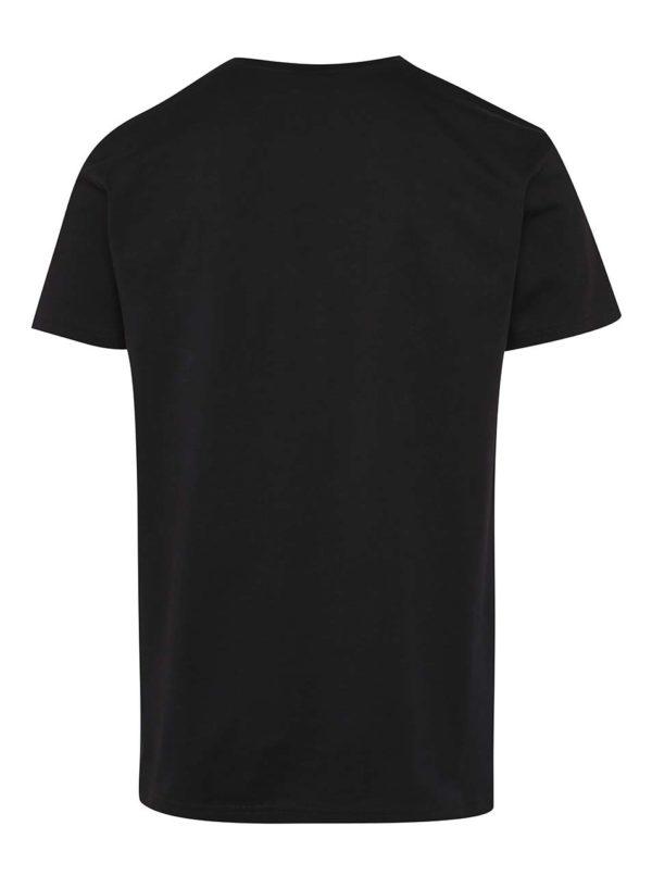 Čierne pánske tričko s potlačou Horsefeathers Save Water